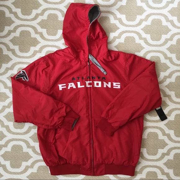 NFL Other - Atlanta Falcons reversible zip jacket XL
